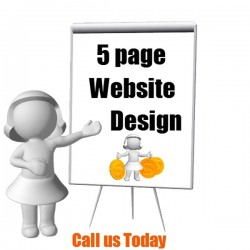 5 Pages Static Website in...