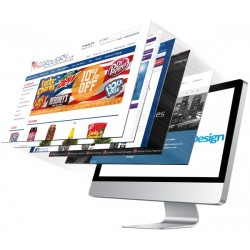 5 Pages Dynamic Website in...