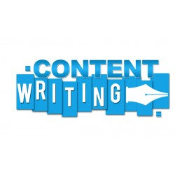 Content Writing only for...