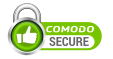 We are highly secured by Comodo SSL